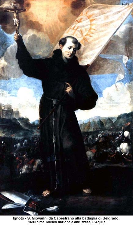sveti Janez Kapistran - duhovnik