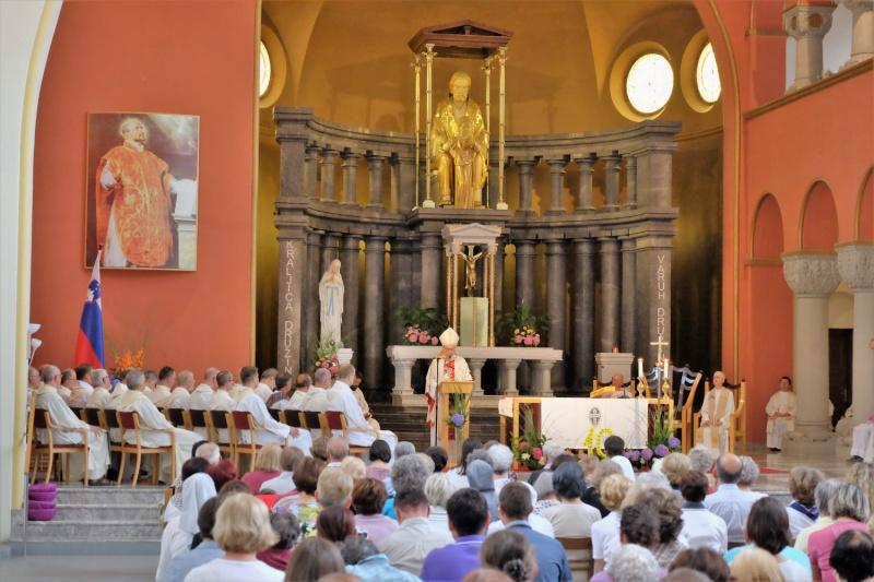 Praznovanje godu sv. Ignacija Lojolskega