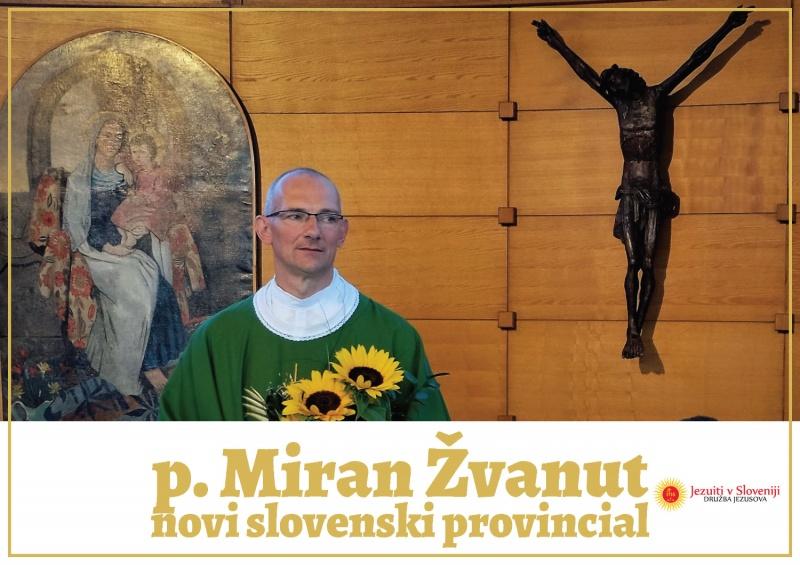 Novi slovenski provincial bo p. Miran Žvanut DJ